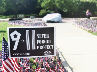 9-11: Never Forget Project makes fourth appearance on campus