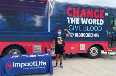 SIUE offers Bloodmobile as a form of community service