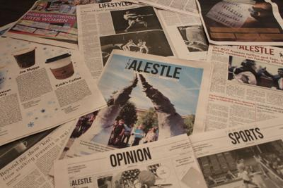 SIUE student newspaper, The Alestle, wins four national college journalism awards