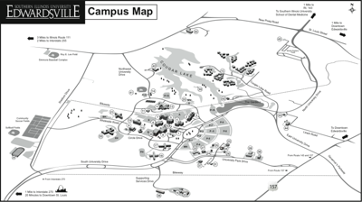 May 31 tornadoes illustrate flaws in SIUE emergency plans ... Siue Campus Map Food on