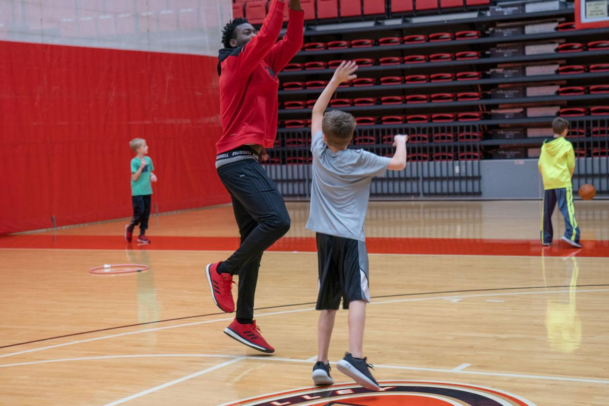 Annual Kids' Night Out connects student athletes with community