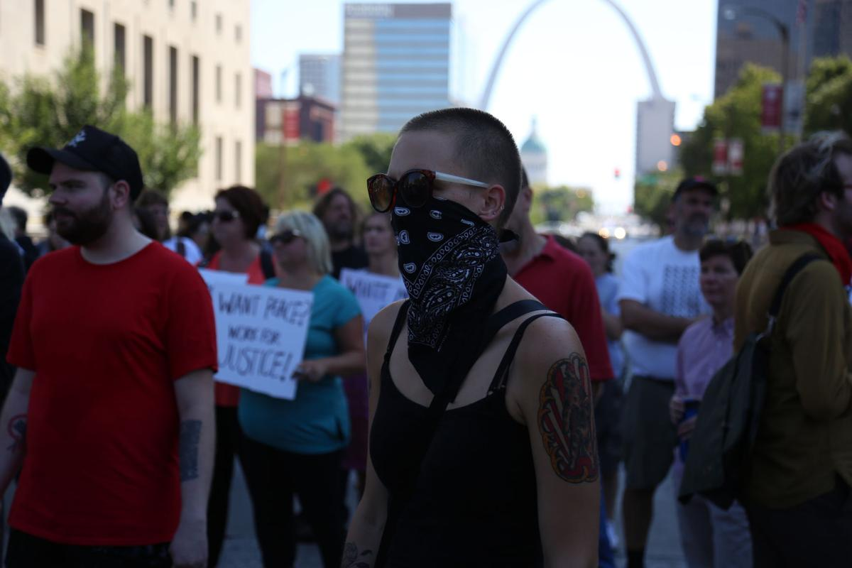 Peace turns to terror in downtown St. Louis