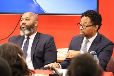 Black and Blue panel brings discussions of racial tension with police front and center