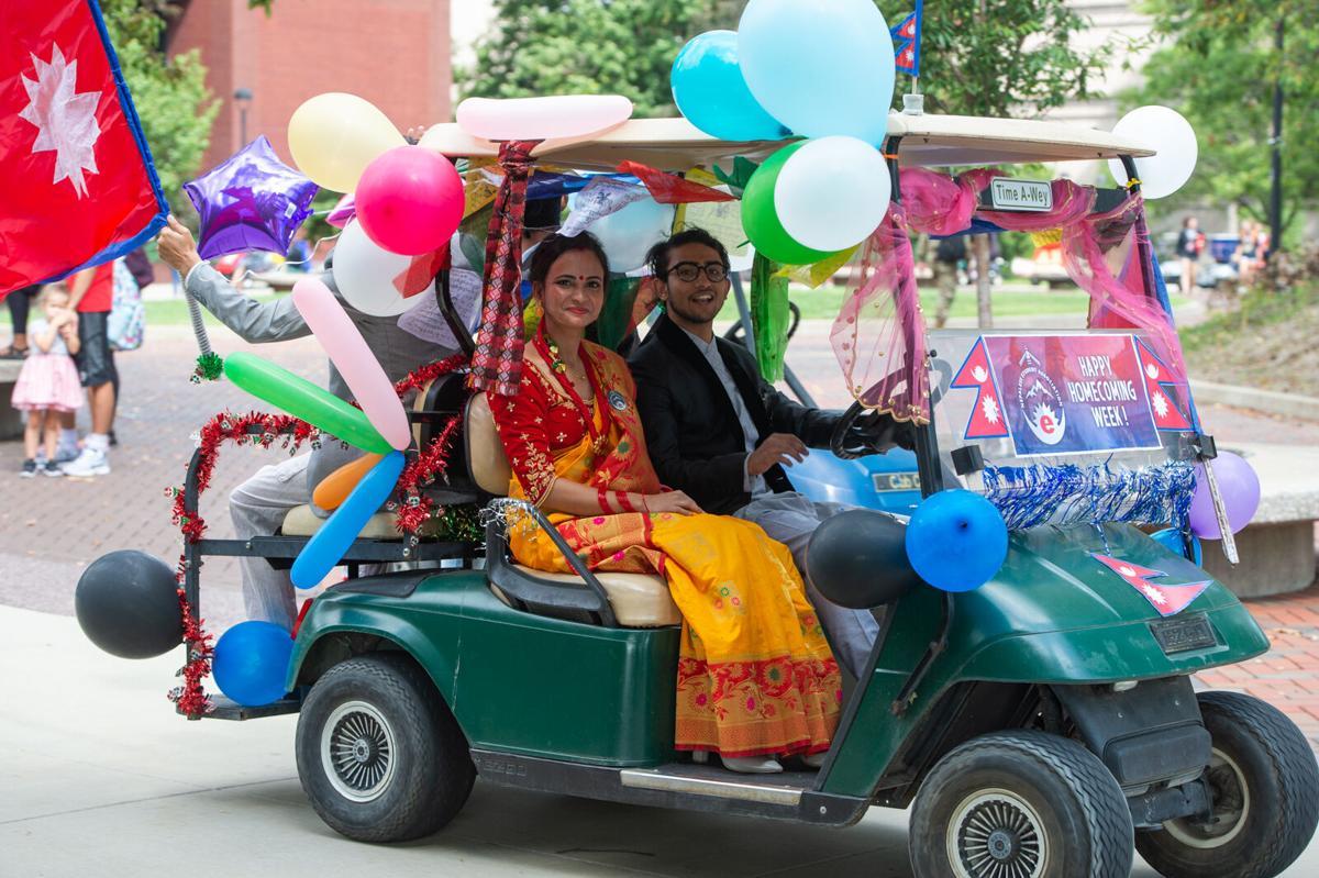 Homecoming Golf Cart Parade