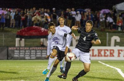 Men's soccer beats Central Arkansas 2-1 on homecoming for first MVC victory of season