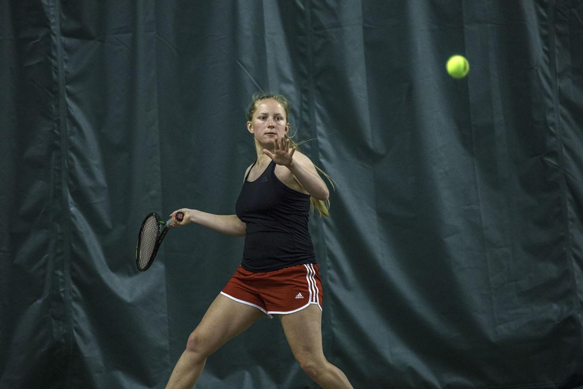 Tennis battles Jacksonville State Saturday, March 17