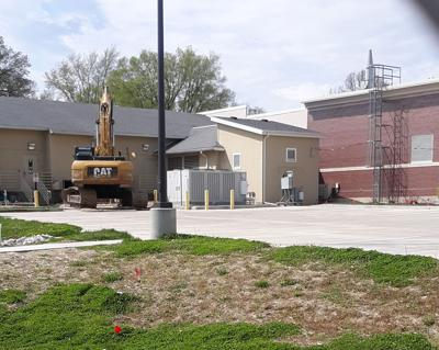 One construction project ending, another just beginning on Alton campus