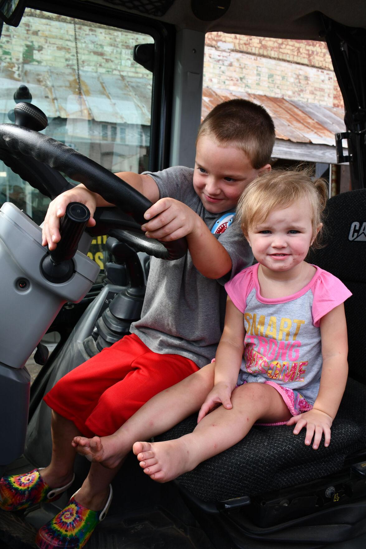 Tykes in Trucks