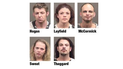 Five arrested on drug charges in Alex City