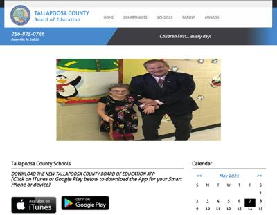 Tallapoosa County Schools website