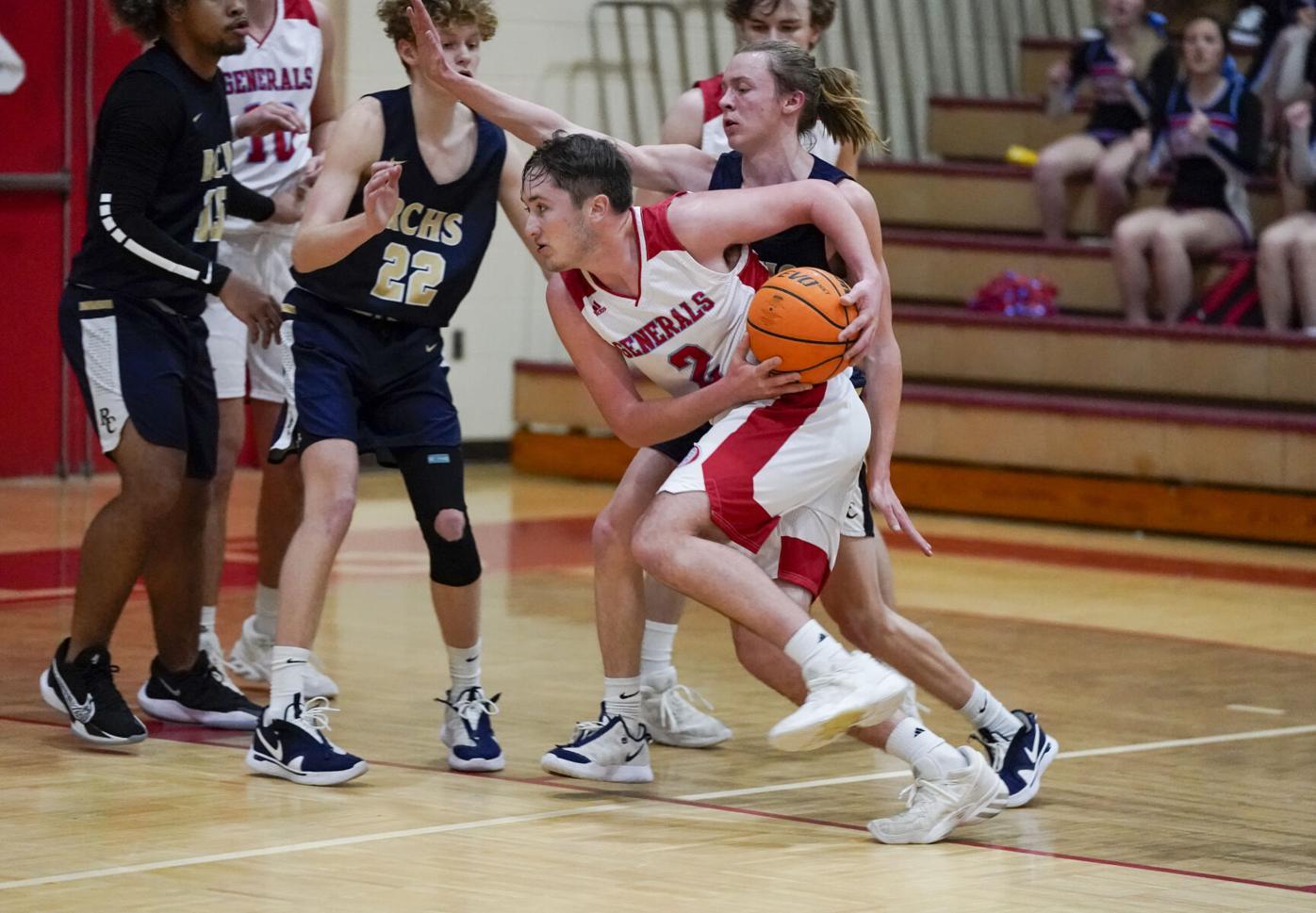 Horseshoe Bend Boys Basketball vs Randolph County
