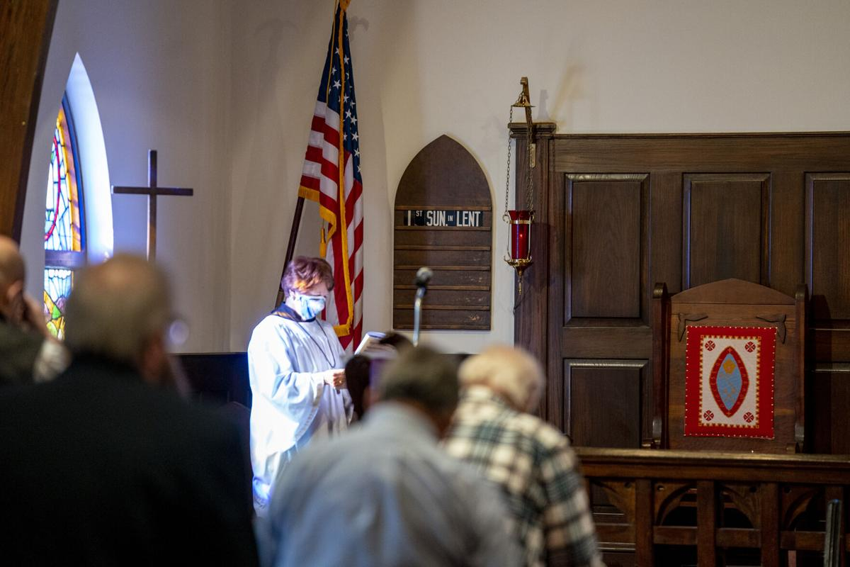 First Sunday of Lent at St James Episcopal Church