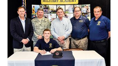 Lyman Ward's James Adcox signs to play baseball at next level