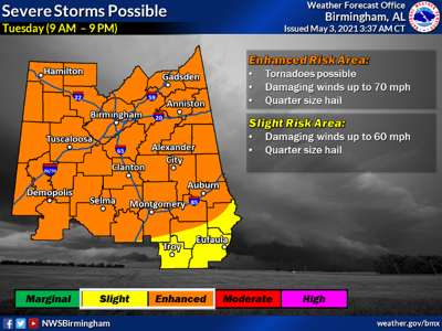 May 4 Severe Weather