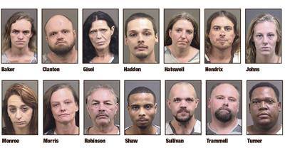 Tallapoosa County Narcotics Task Force announces 14 arrests on drug