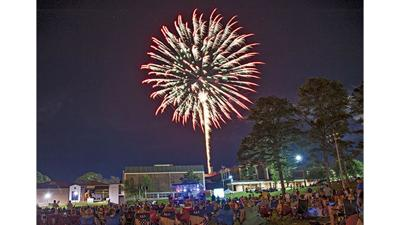 Special events around the area highlight Independence Day weekend