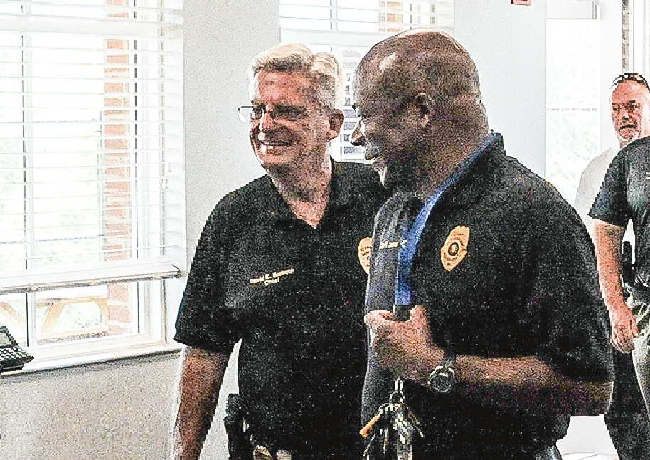 Dadeville police chief David Barbour
