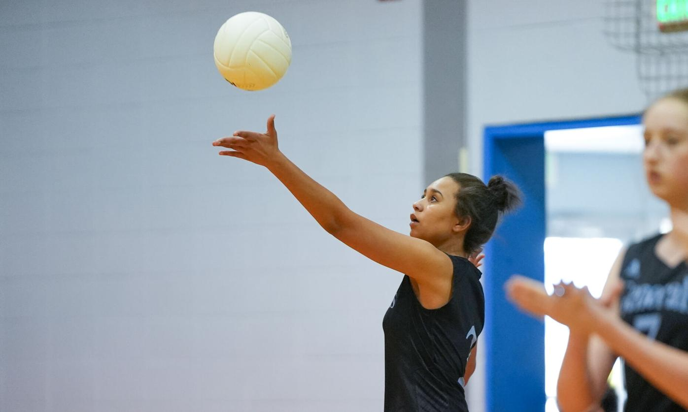 Central Coosa volleyball vs Horseshoe Bend