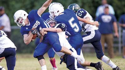 Lyman Ward falls in another high-scoring affair