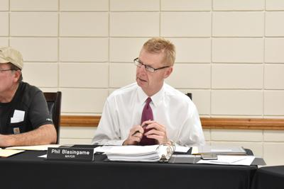 New Site Mayor Phil Blasingame
