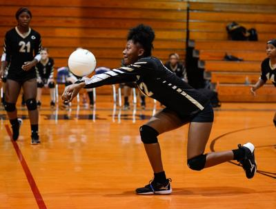 Central Coosa volleyball vs Dadeville