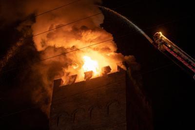 Fire at First United Methodist Church