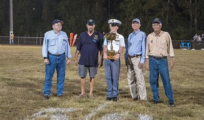 Class of '66 Lyman Ward football team honored