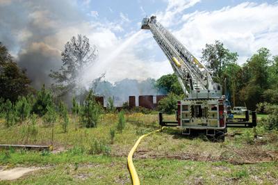 Camp Hill fire 1