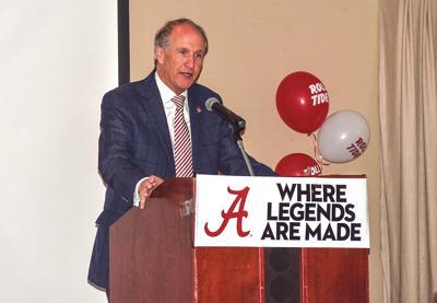 University of Alabama president Dr. Stuart Bell
