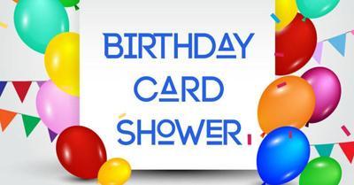 Birthday Card Shower