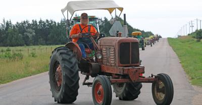 Gary Ober On 2019 Tractor Drive
