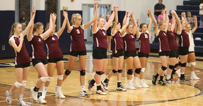 Warriors Open Volleyball Season At Greeley