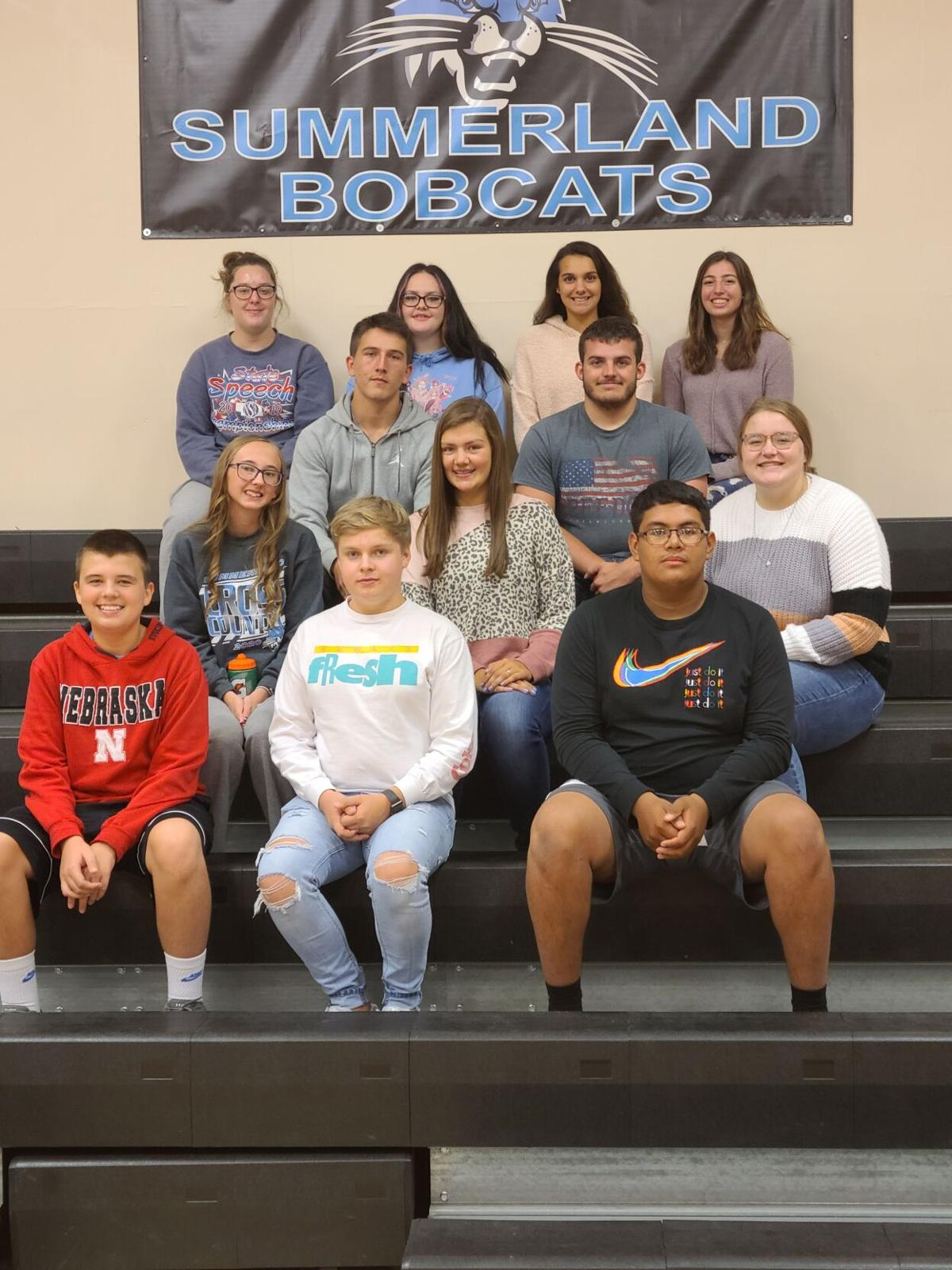 Ewing's Homecoming Court