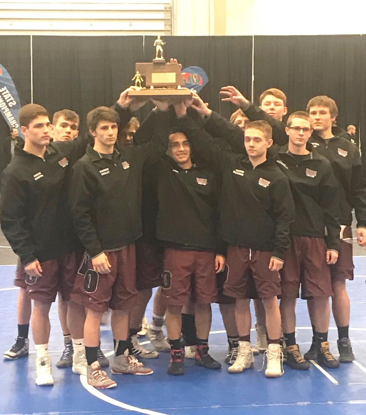 Third place Class D State Dual Championships