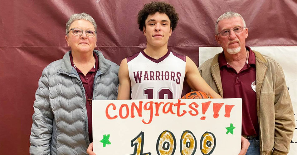 Hearn Nets 1,000th Career Point
