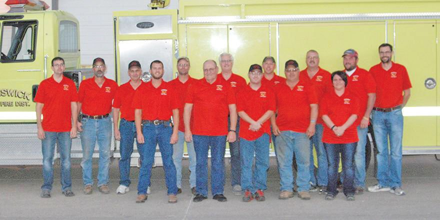Brunswick Fire Department Honored For Service