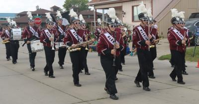 Neligh-Oakdale Band At Lions Club Parade