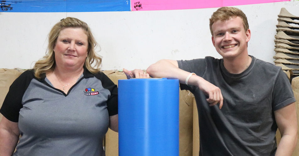 Blackburn Manufacturing Donates Plastic For Hospital Gowns