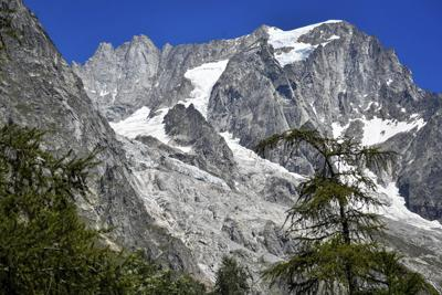 Italy Melting Glacier