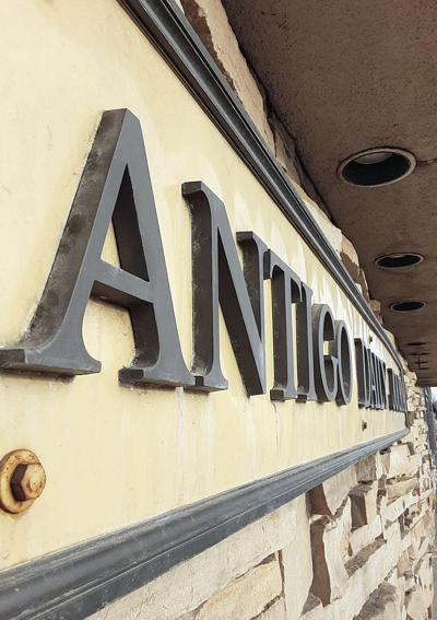 The Antigo Daily Journal sign will not change at the entrance to the Superior Street office.