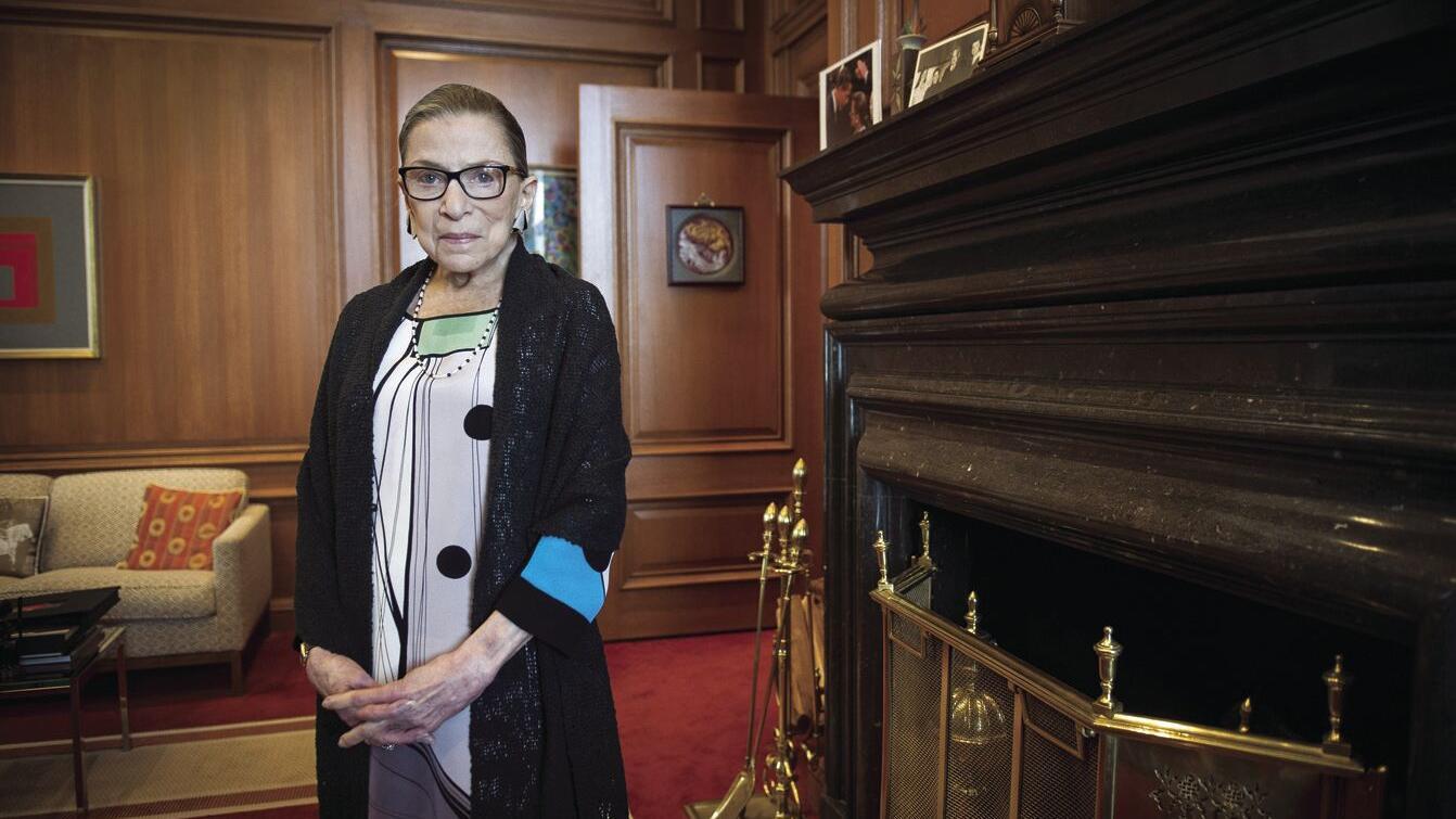 Supreme Court Justice Ruth Bader Ginsburg dies Friday at age 87