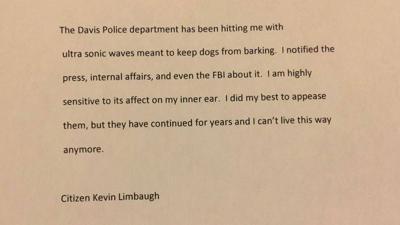 Limbaugh letter