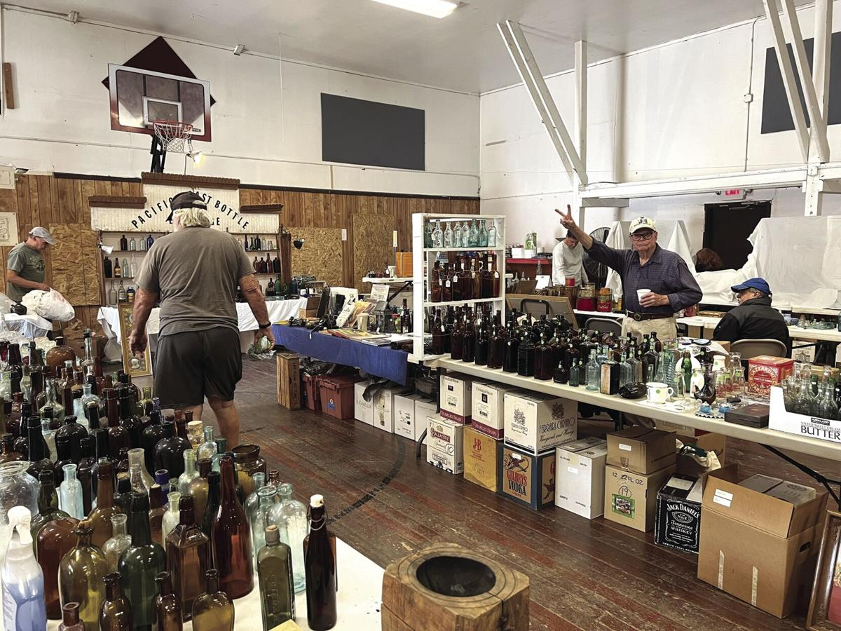 Bottles, jars and collectibles, oh my!