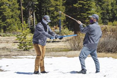 State entering summer with below average snowpack