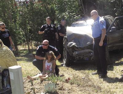 Two Corning residents seriously injured in crash
