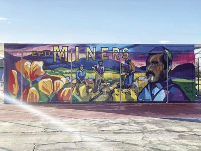 Mural created to support art education