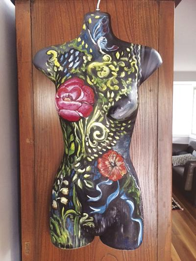 Yuba-Sutter Arts  celebrating women with mannequin gallery