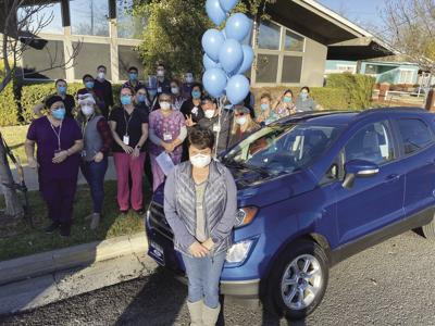 Williams CNA wins new SUV in giveaway