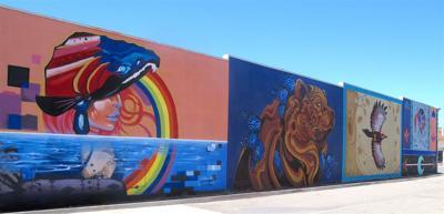 Corning murals