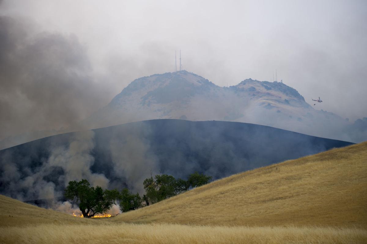 Sutter Buttes Fire